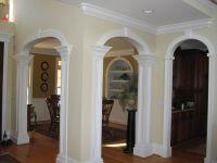 finish trim arch | Stone trim around doorway and windows ...