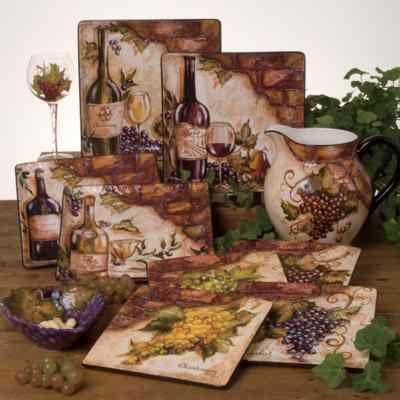 Seventhavenue Com Grape Decor Grape Candleholder Pair From