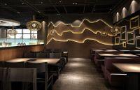Korean Restaurant Interior Design | Recently Korean ...