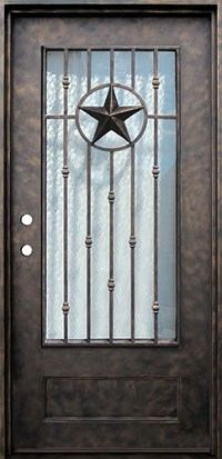 Star Doors & Therma-Tru Smooth-Star Fiberglass Door ...