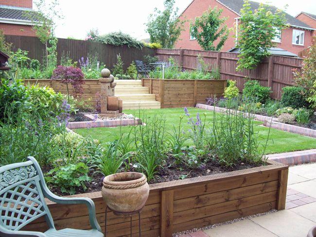 Raised Beds Around Peremeter Planters Patio Small Version Of