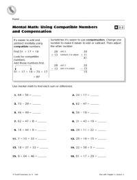 All Worksheets  Estimating Quotients Worksheets ...