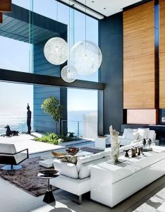 Nettleton stefan antoni olmesdahl truen architects saota  okha interiors for interior design in clifton cape town south africa the high also spectacular spaces pinterest living rooms ceilings and window rh