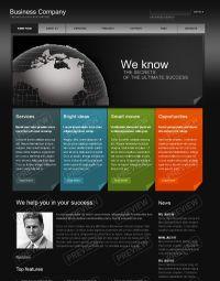 business website design template   Website Templates ...