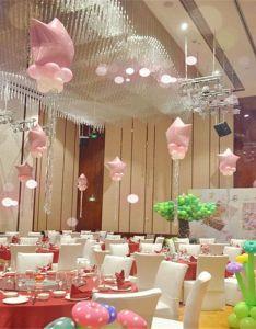 Balloon wedding room baby full moon anniversary hundred days children birthday party decorations decorative item also rh uk pinterest