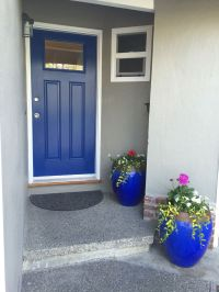 Front door color: Dignity Blue Sherwin Williams | Home ...