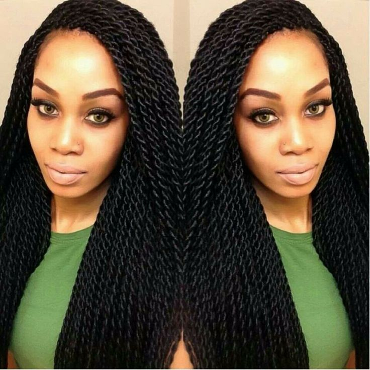 Rope Twist Hairstyles Gorgeous Rope Twists Hair Style & Color