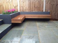 Modern Garden Design London Natural Sandstone Paving Patio ...