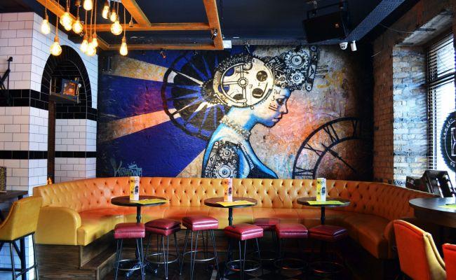 L Estrange Designs The Camden Exchange Bar Design