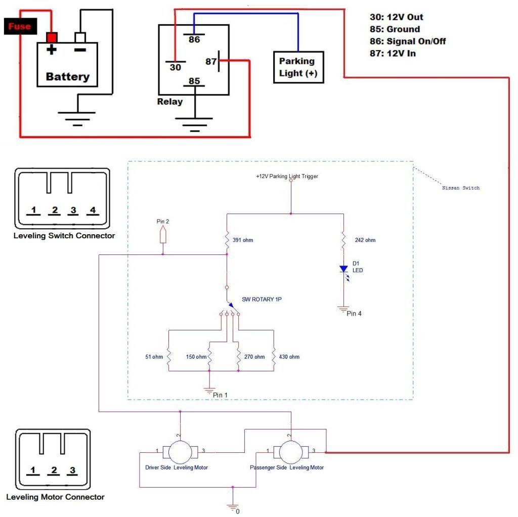 2006 honda accord headlight wiring diagram hengstler encoder inspire leveling motor