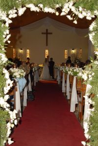 Vintage Wedding Church | wedding church decoration 1 ...
