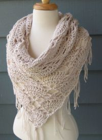 ELVIRA Triangle Cowl Scarf Shawl Wrap by by ArtsyCrochet ...