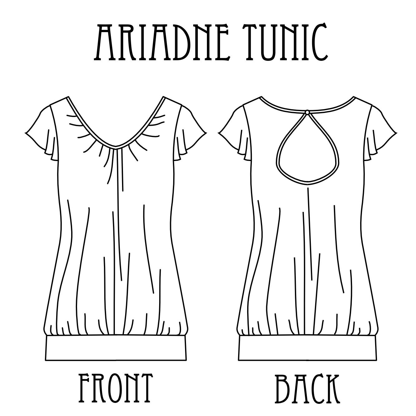 Anleitung Und Schnittmuster Ariadne Tunic