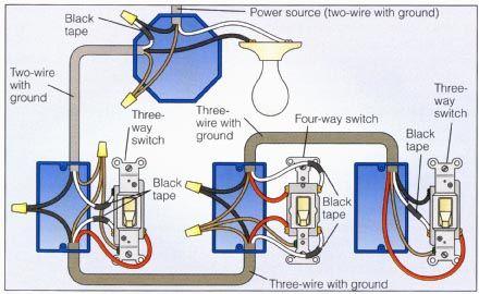 Power At Light 4 Way Switch Wiring Diagram Wiring Diagram