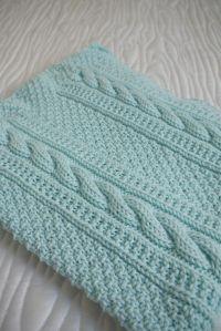 Baby Blanket   Knitting patterns baby, Knitting patterns ...