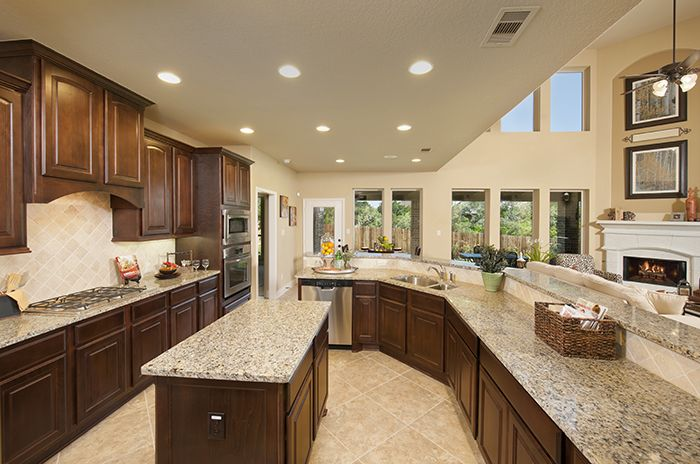 PerryHomes #Kitchen #Design 3798W Gorgeous Kitchens By Perry