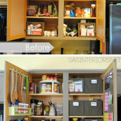 Diy Kitchen Pantry Cabinet Plans Vintage Step Stool Chair Try This 9 Organization Tips Small Kitchens