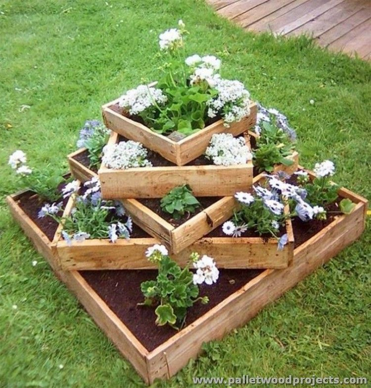 Patio Projects With Wooden Pallets Gardens Mueblesdepalets And
