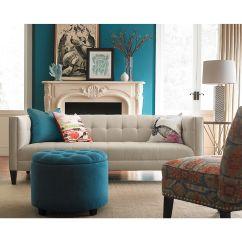 Martha Stewart Saybridge Sofa Brown Sofas Decor Briel Tufted Tight Back And Seat Collection Furniture