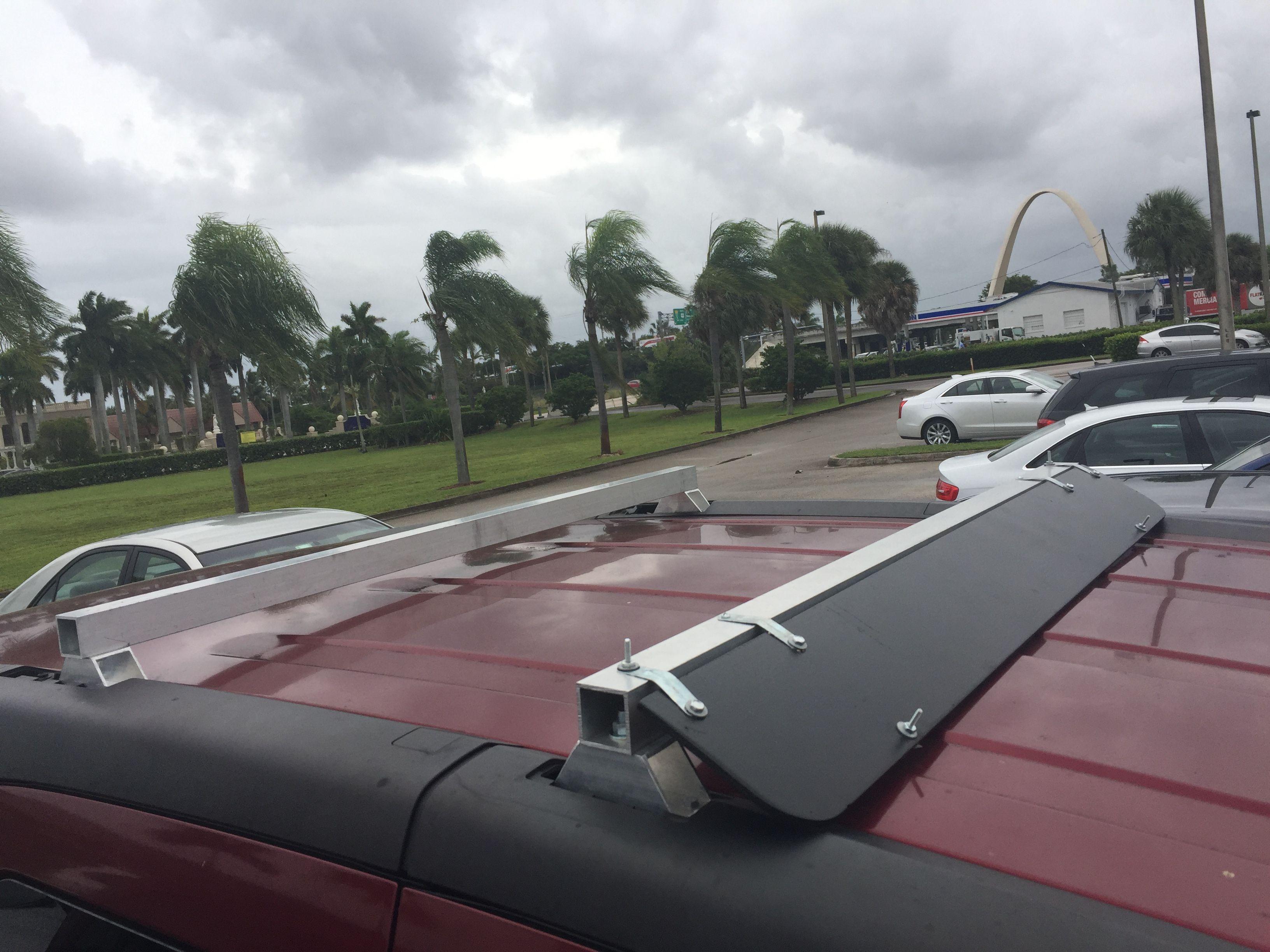 DIY Honda Element Roof Rack