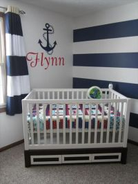 Sailor Theme Nursery on Pinterest | Sailor Nursery ...