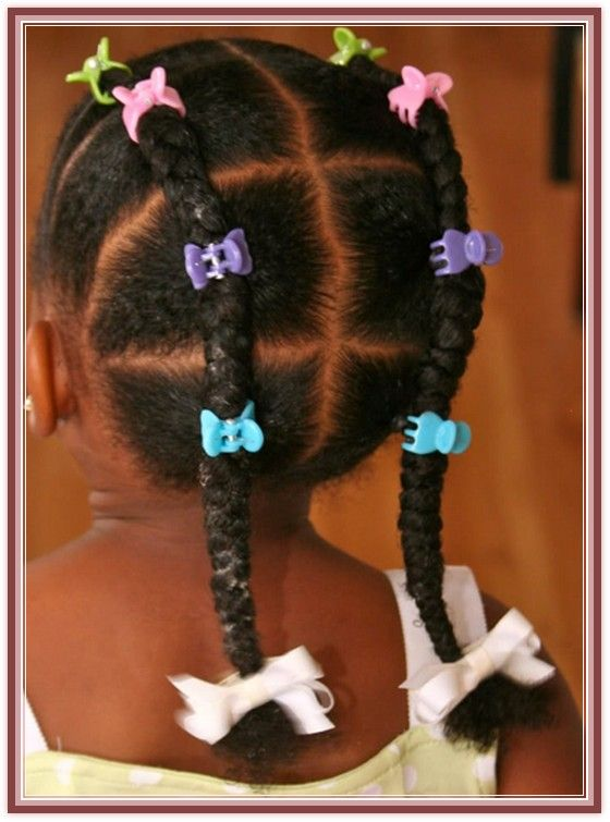 Very Good Wedding Hairstyles For African American Toddlers Idea