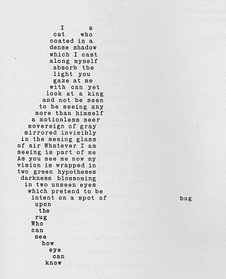 Shape poems are poems where the words are arranged to form