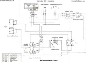 yamaha golf cart electrical diagram | Yamaha G1 Golf Cart