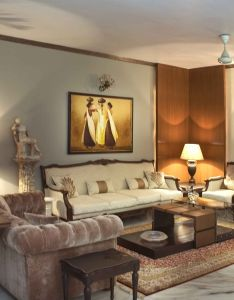 Luxury sofas with painting design by madalsa soni interior designer in noida up india also zingyspotlight today fantastic residential rh pinterest