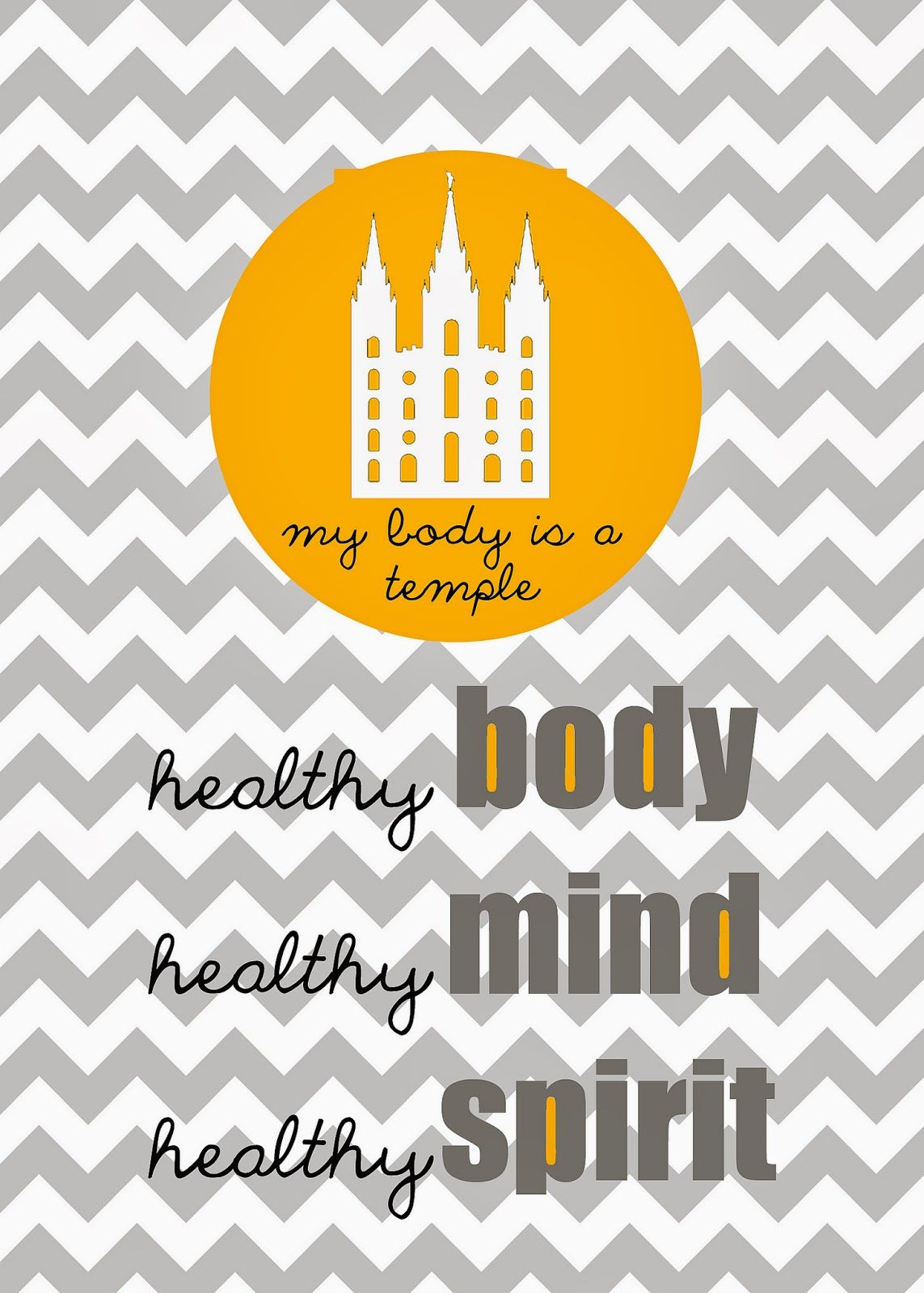 Lds Activity Day Ideas My Body Is A Temple