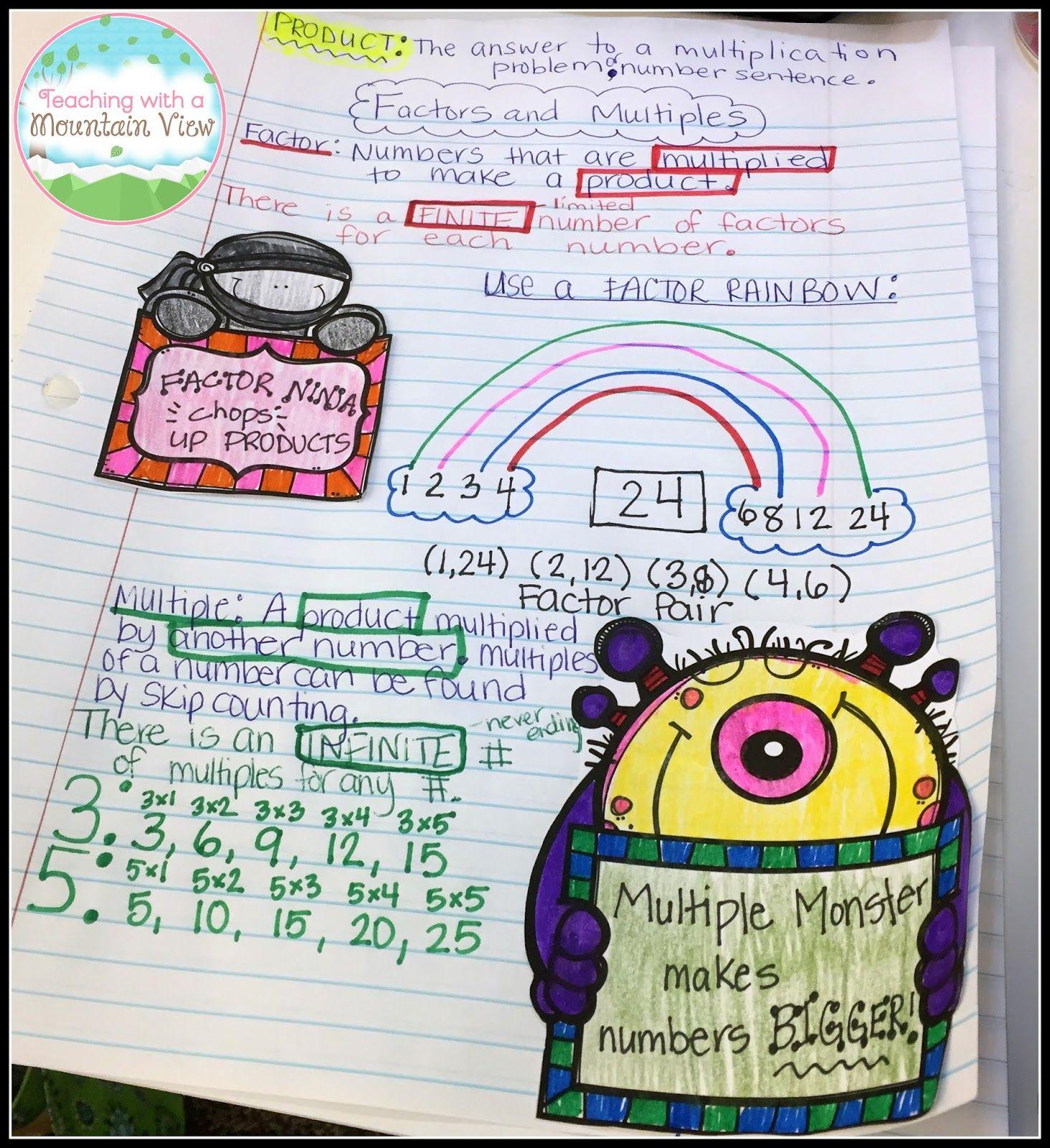 Mountain Math 2nd Grade Coloring Worksheet