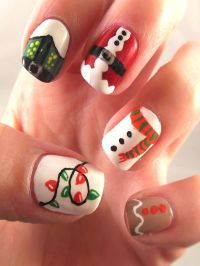 Best 25+ Christmas nails ideas on Pinterest | Holiday ...