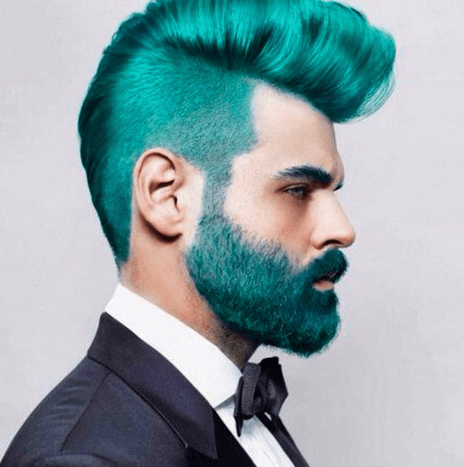 Mermen' Hair Trend Has Guys Dying Their Hair With Crazy Blues And