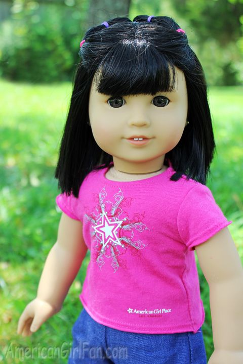 Hairstyle For Dolls With Short Hair Or Girls With Short Hair
