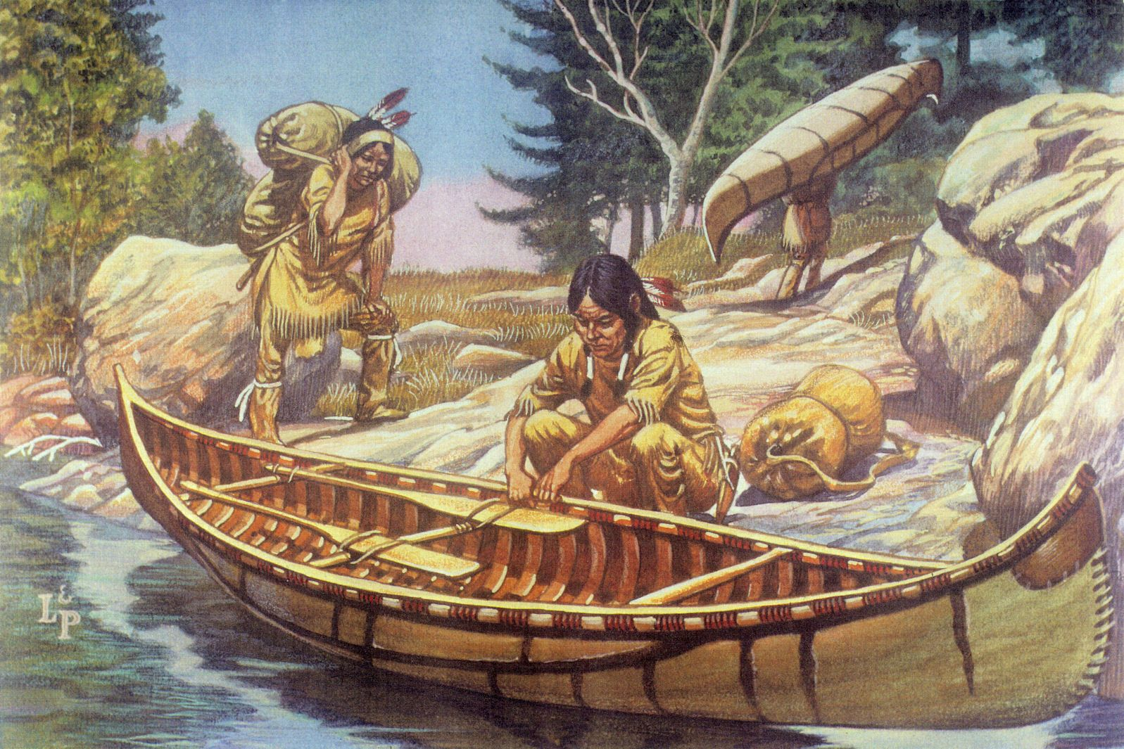 Iroquois Canoe For Web Site July