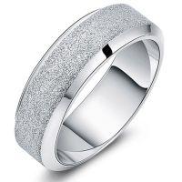 Engravable Custom Name Titanium Promise Ring for Men