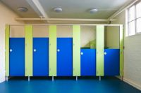 #education #school #toilets #cubicles #colours | Toilet ...