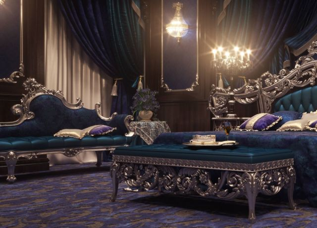 Royal Style Bedroom Sets