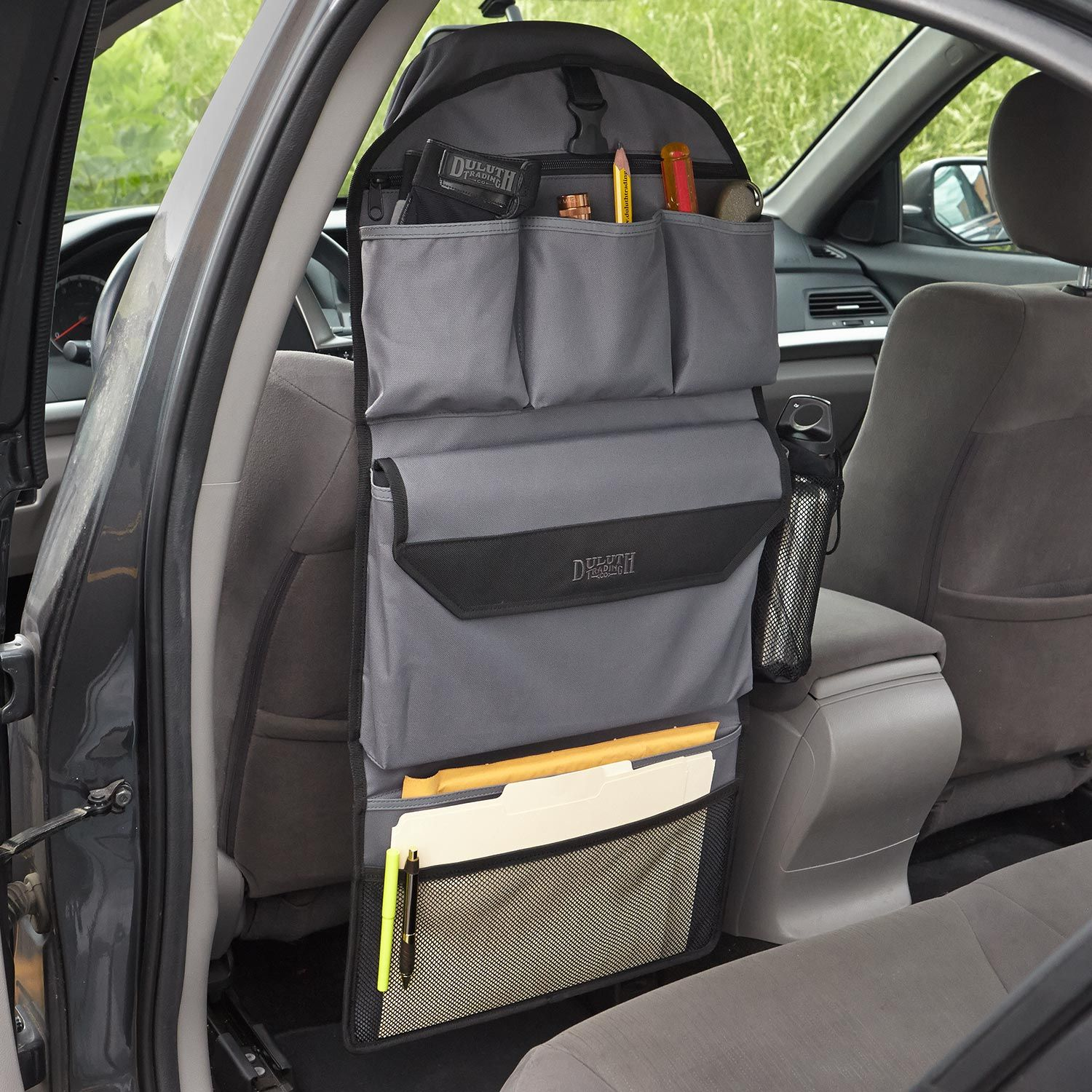 Seat Back Organizer Duluth Trading This might be a simple way to