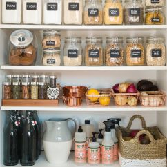Kitchen Pantry Organization Ideas Extendable Table Food Storage Pinterest Do It