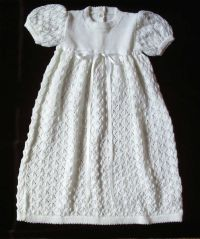 free crochet heirloom baby dress patterns knitted ...