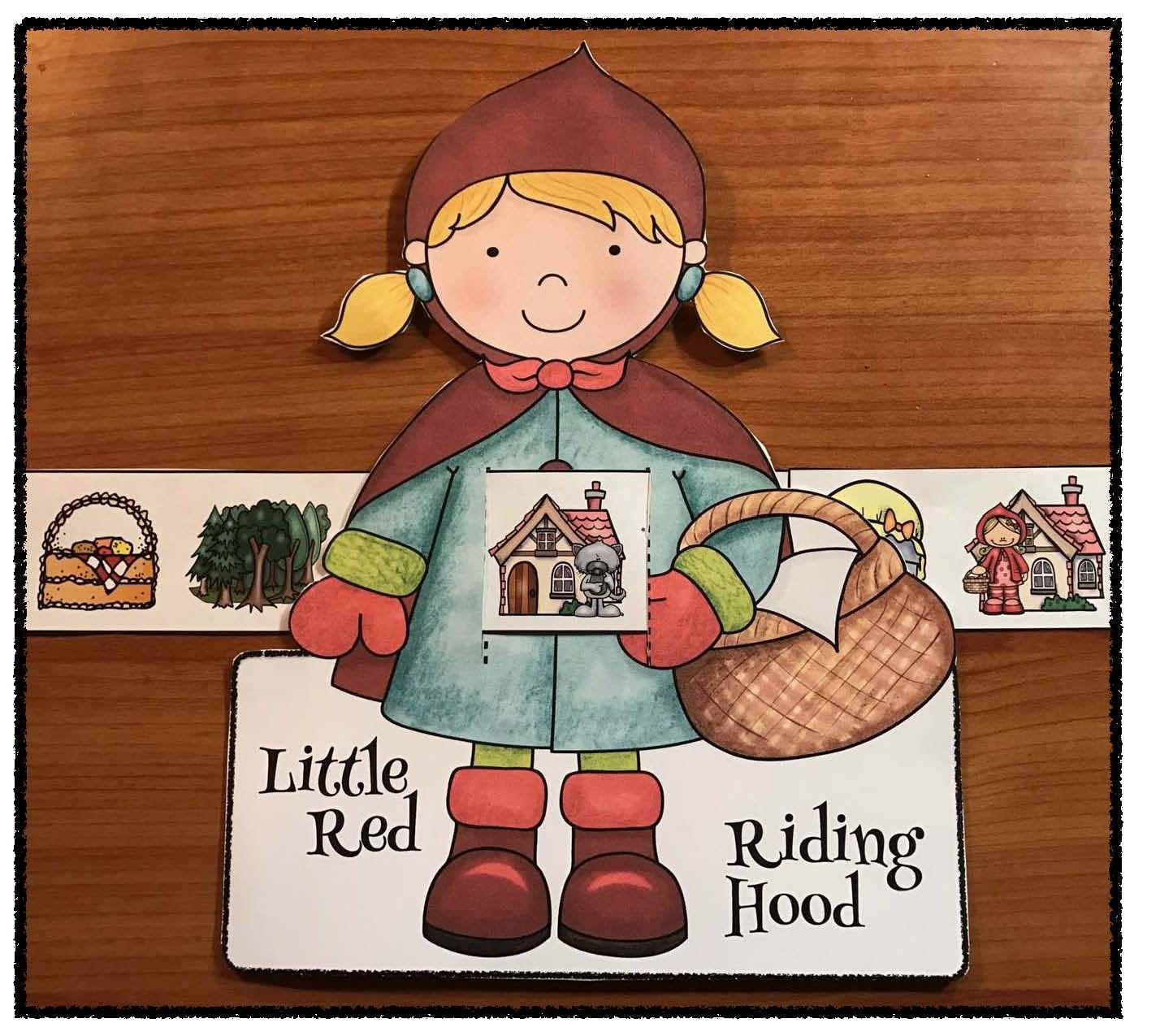 Fairy Tale Activities Cute Storytelling Slider Craft
