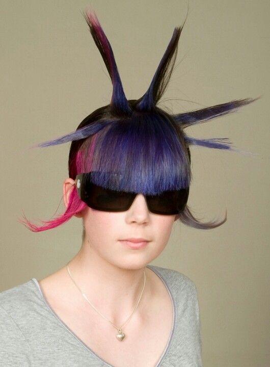 Not That Weird Weird But Cool Hair Styles Pinterest That's Weird
