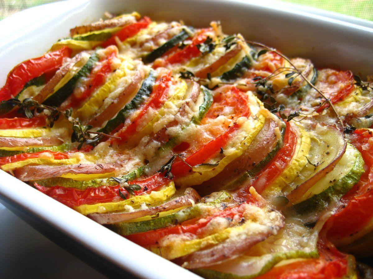 Vegetable Tian Ina Garten Recipe Ina Garten Recipes And Kitchen