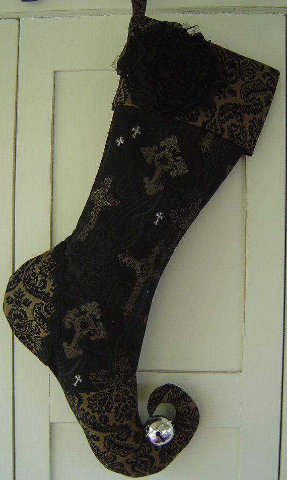 Halloween Stockings On Pinterest Christmas Stockings