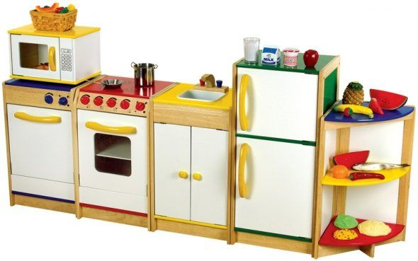 kids play kitchen set  Kid Stuff  Pinterest  Kitchen
