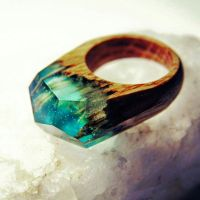 Secret wood rings | Accessorize!!! | Pinterest | Woods ...