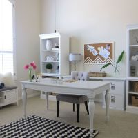 Shabby Chic-Office Makeover | Desks, Shabby chic office ...