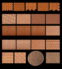 Brick Paving Patterns | PATTERNS | Brick Paver Showroom of ...