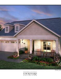 Exterior rendering of new portico model home at the villas ridgefield farm also epcon   rh pinterest